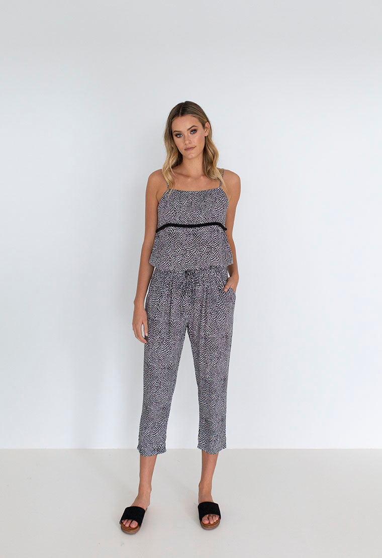 Jungle Pant | Black/White