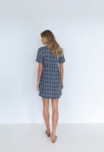 Load image into Gallery viewer, Humidity Lifestyle Stripe Sofia Dress | Navy