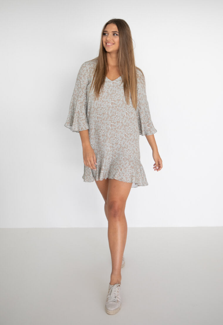 Humidity Lifestyle Jasmine Elba Dress | Sage