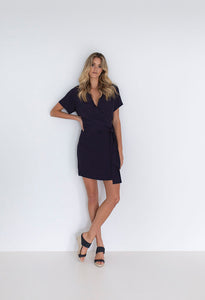 Humidity Lifestyle French Dress | Navy The Corner Store Yamba