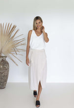 Load image into Gallery viewer, Humidity Lifestyle Clothing Willow Wrap Skirt, Linen Skirt, The Corner Store Yamba