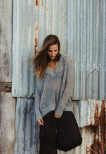Load image into Gallery viewer, HUMIDITY LIFESTYLE LUXE V KNIT ICE GREY