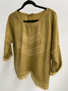 Amici made in Italy On Point Top - Yellow - The Corner Store Yamba