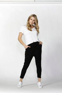 BETTY BASICS Jade Pant - Black
