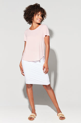 The Janis Tee | Blush