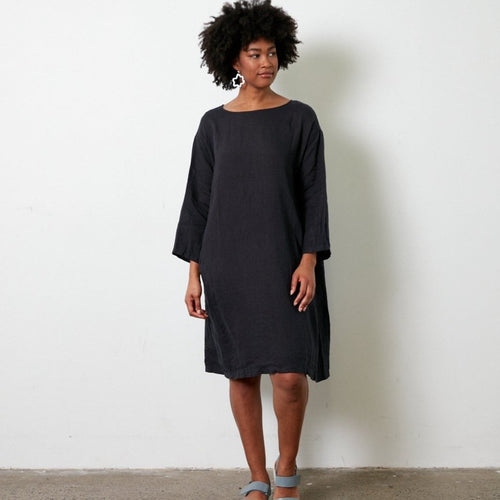 Italian Linen straight edge dress