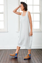 Load image into Gallery viewer, Montaigne Paris, Italian Linen Luca Dress | Silver, The Corner Store Yamba, Linen Dress, Linen Cltohing