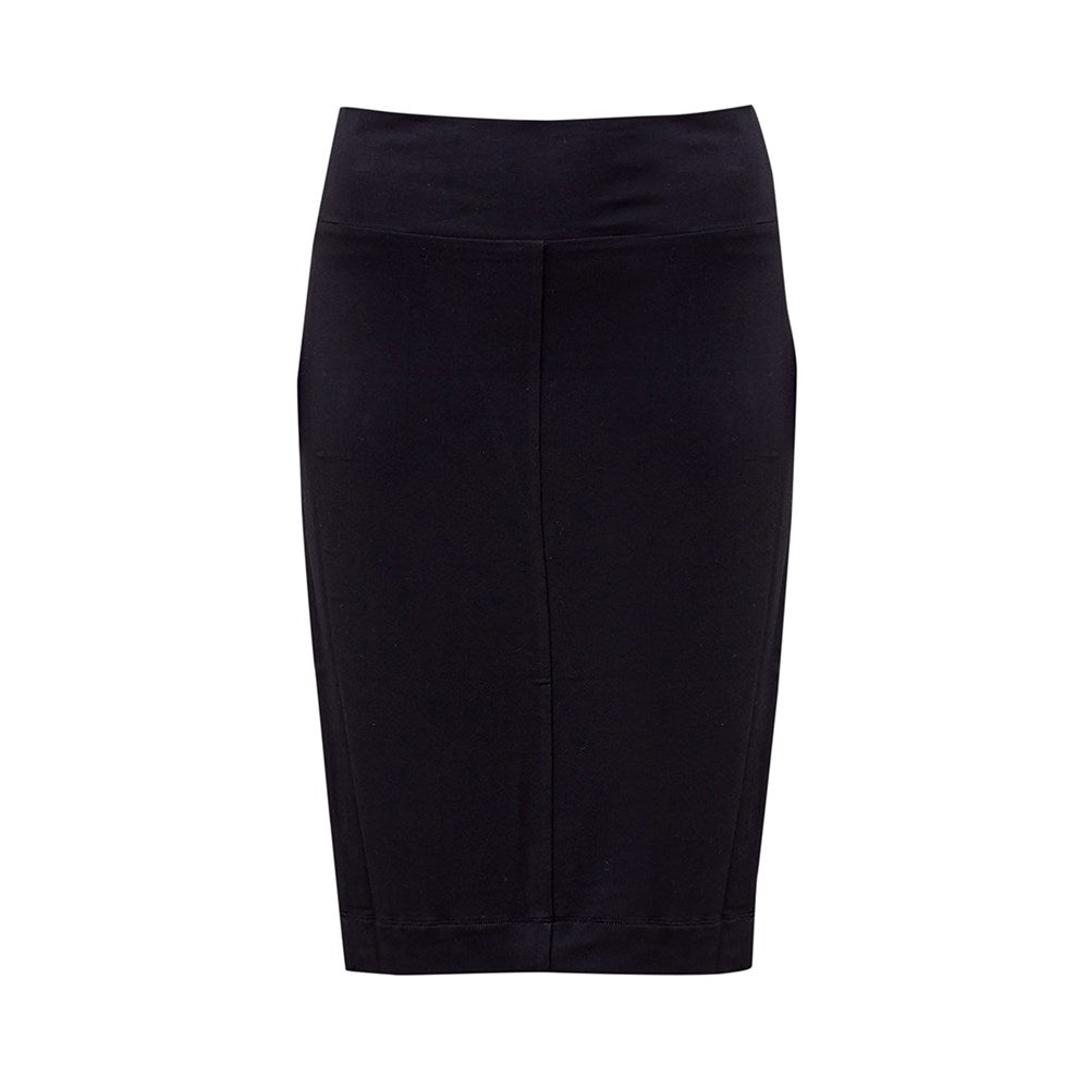 The Midi Whitney Tube Skirt | Black