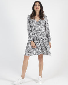 SASS CLOTHIING RORY DRESS INK BLOT