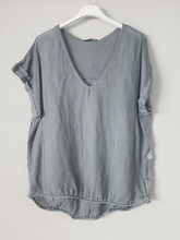Load image into Gallery viewer, Italian Linen T-Shirt - Siena