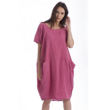 Load image into Gallery viewer, Italian Linen Milan Dress