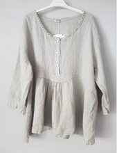 Load image into Gallery viewer, Italian Linen Amalfi Blouse