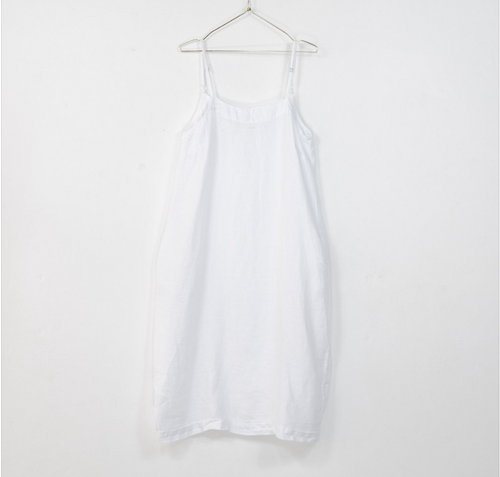 Montaigne Paris Italian Linen Stella Slip Dress