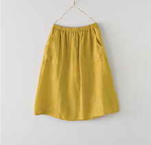 Load image into Gallery viewer, Montaigne Paris Italian Linen Maria Skirt
