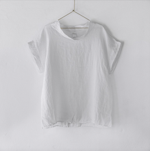 Load image into Gallery viewer, Montaigne Paris Italian Linen Laura Top