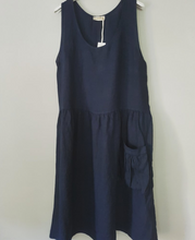 Load image into Gallery viewer, Italian Linen Isabella Dress