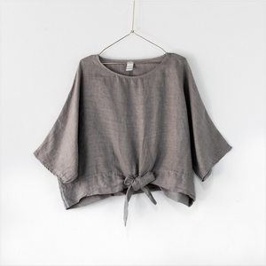 Montaigne Paris Italian Linen Georgina Top