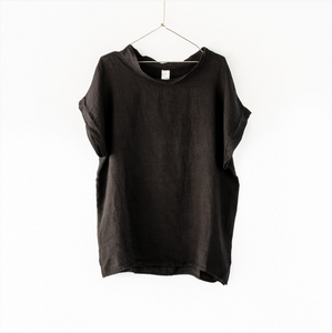 Montaigne Paris Italian Linen Laura Top