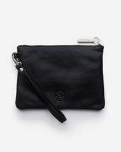 Load image into Gallery viewer, Stitch & Hide - Cassie Clutch - Black