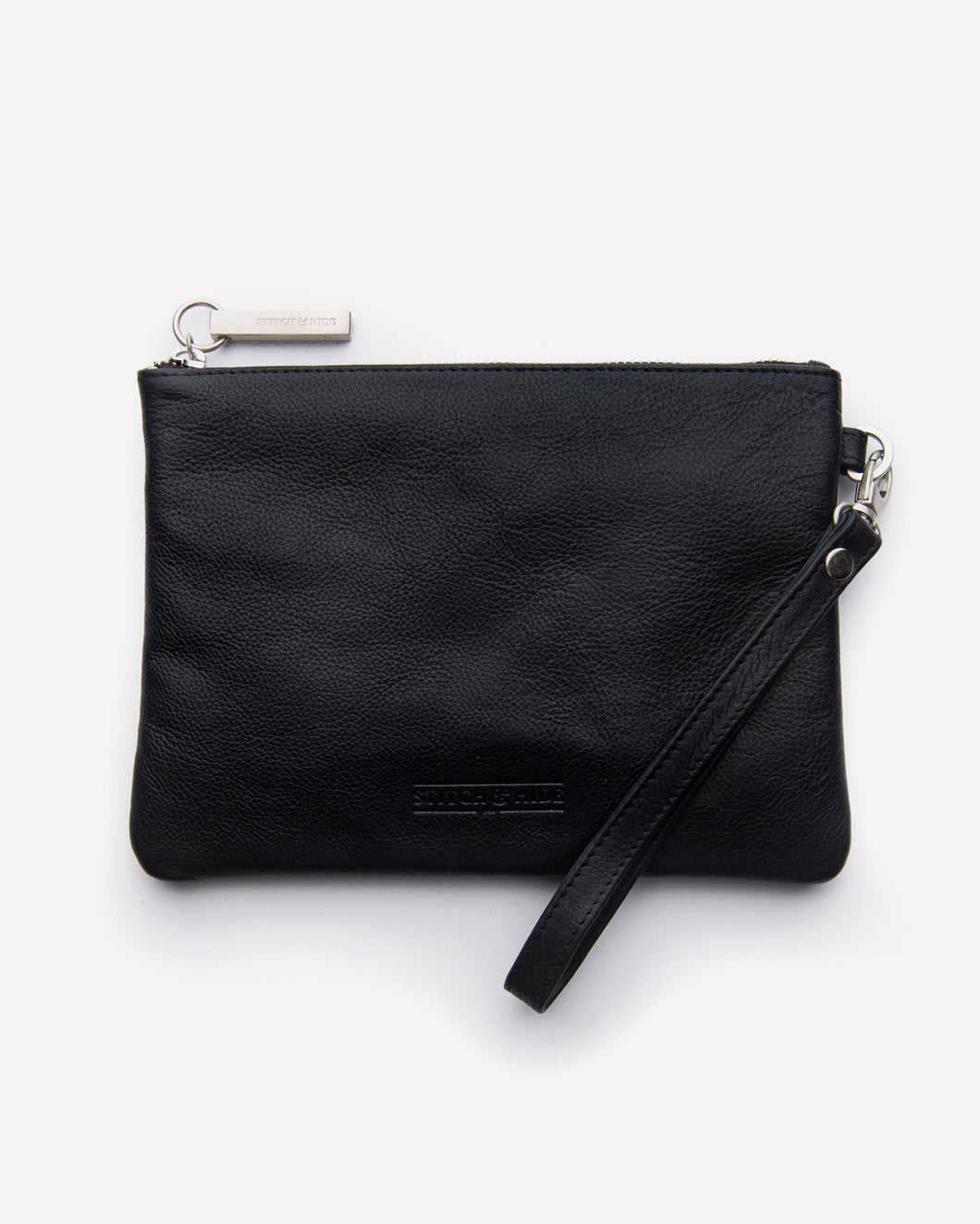 Stitch & Hide - Cassie Clutch - Black