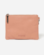 Load image into Gallery viewer, Stitch & Hide - Cassie Clutch - Coral - The Corner Store Yamba
