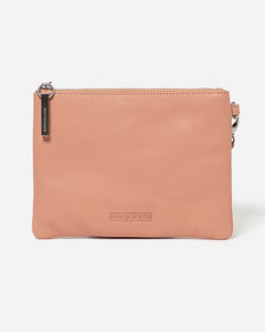 Stitch & Hide - Cassie Clutch - Coral - The Corner Store Yamba