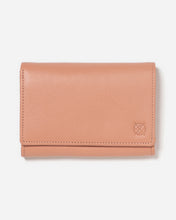 Load image into Gallery viewer, Stitch & Hide Ellie Wallet - Coral - The Corner Store Yamba