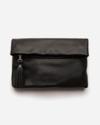Stitch & Hide Lily Clutch - Black - The Corner Store Yamba