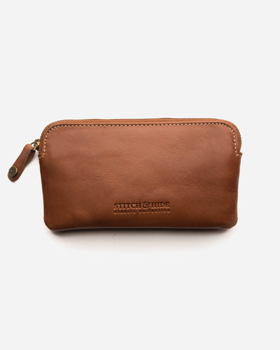 Stitch & Hide - Lucy Pouch - Classic - Maple - The Corner Store Yamba