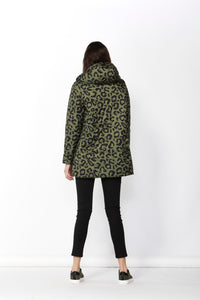 Carter Reversible Puffa Jacket - Moss