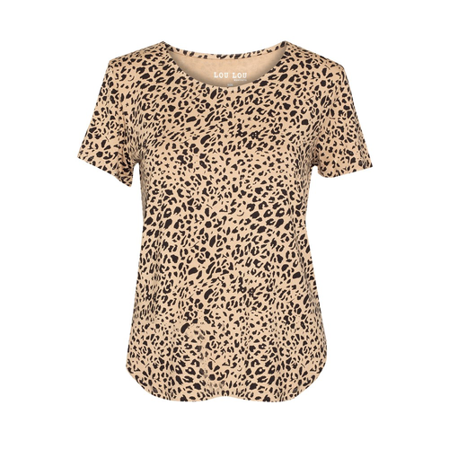 The Janis Tee | Leopard