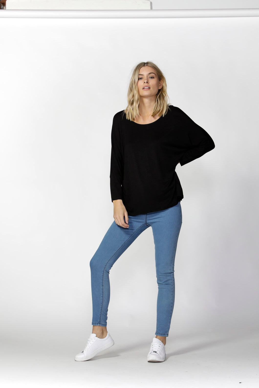 Milan 3/4 Top - Black