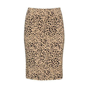 The Midi Whitney Tube Skirt | Leopard