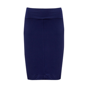 The Midi Whitney Tube Skirt | Navy