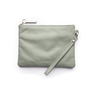 Stitch & Hide - Cassie Clutch - Sage - The Corner Store Yamba