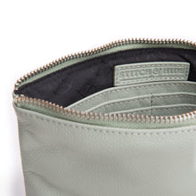 Load image into Gallery viewer, Stitch & Hide - Cassie Clutch - Sage - The Corner Store Yamba