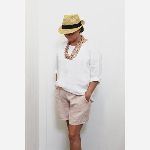 Italian Linen Essential Short