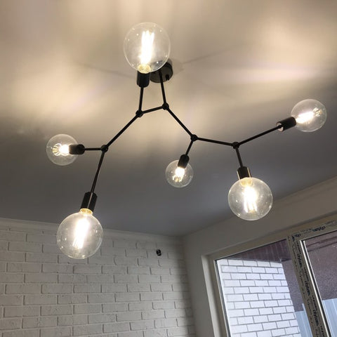 Molecule Led Ceiling Chandelier