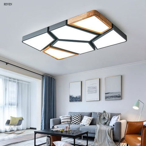 Nordic Wood panel  LED lights