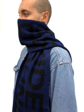 Load image into Gallery viewer, Navy Scarf + #130
