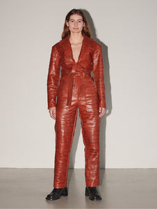 Glamcult x Ninamounah — Offender Leather Suit