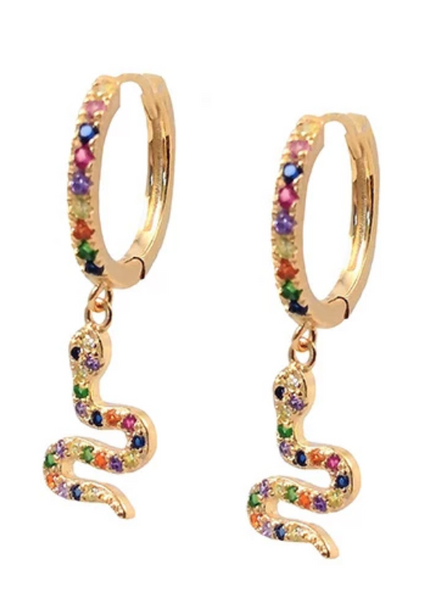 Aretes Hoops Snake