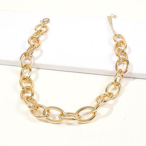 Cadena Chocker lisa