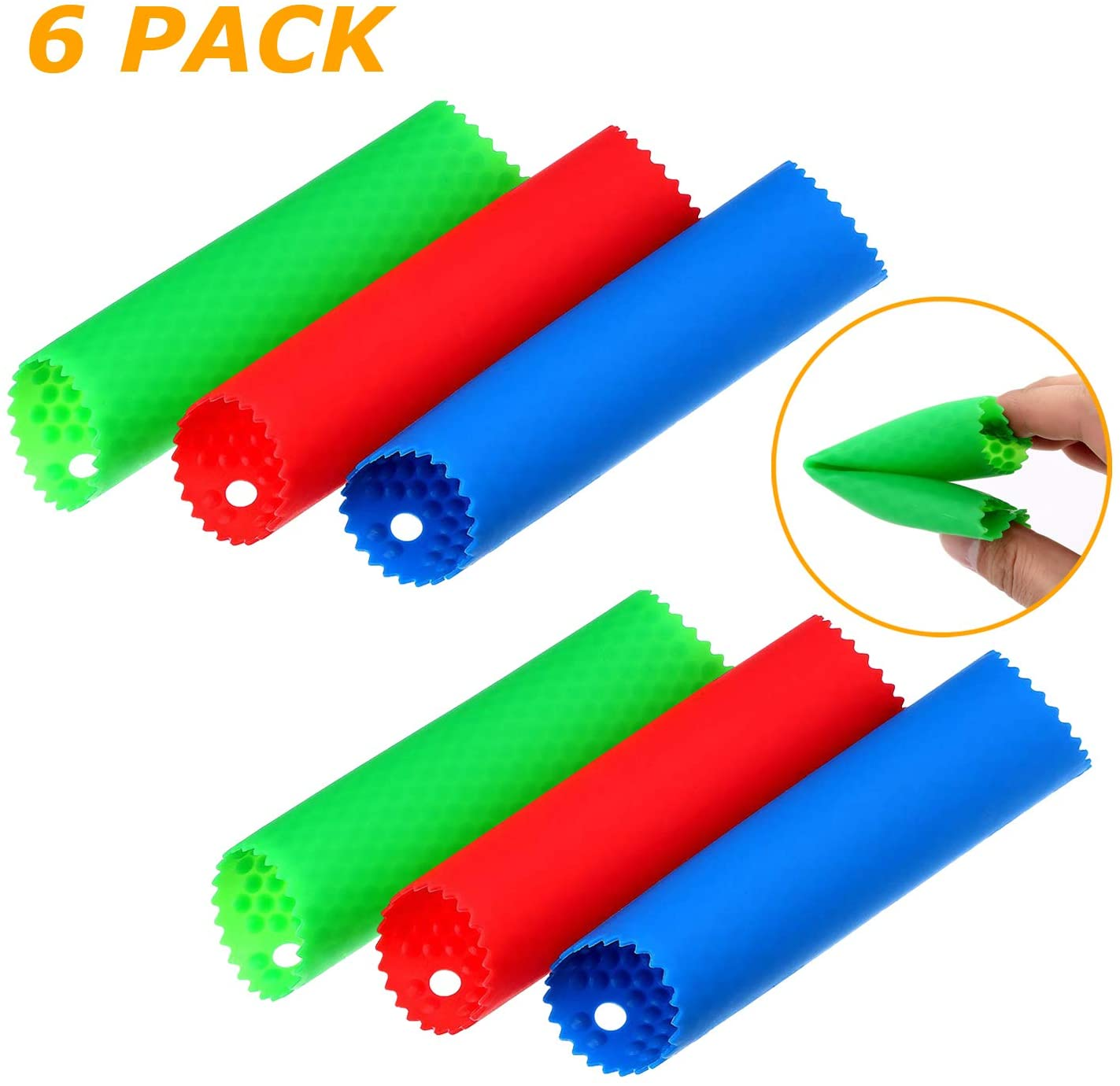 6pcs Garlic Peeler