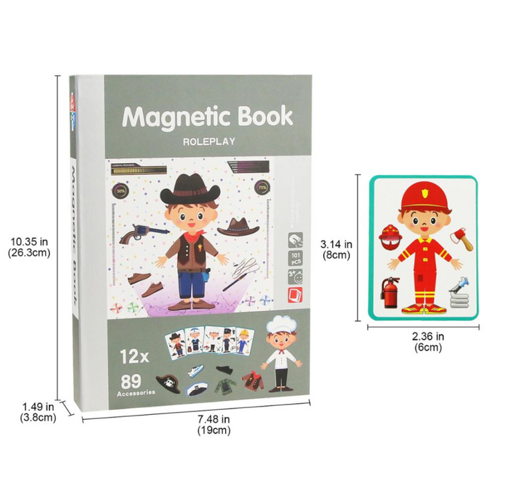 3D Magnetic Book