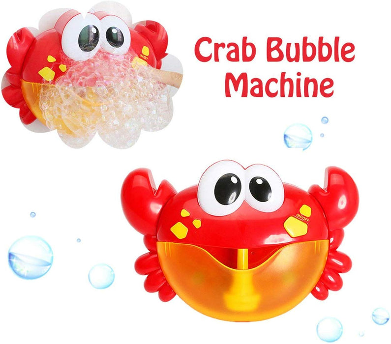 Mr. Bubbles Crab