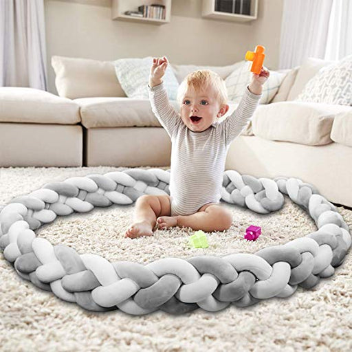 Angel Knot Crib Bumper