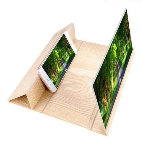 Image of 12 inch phone screen amplifier----Movie companion, eye protector( Buy 2 Get Extra 10% Off )