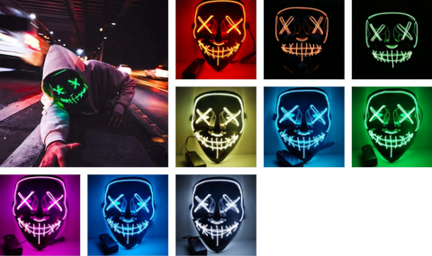Image of Halloween LED Mask ( Buy 2 Get Extra 10% Off )