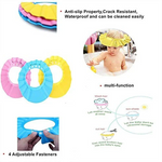 Adjustable Shower Cap for Baby (set of 3)